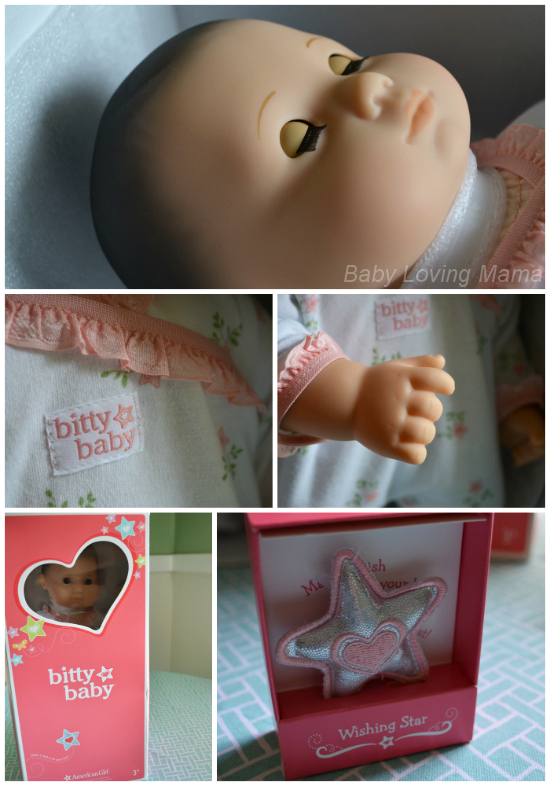 American Girl New Bitty Baby Collection Close Up