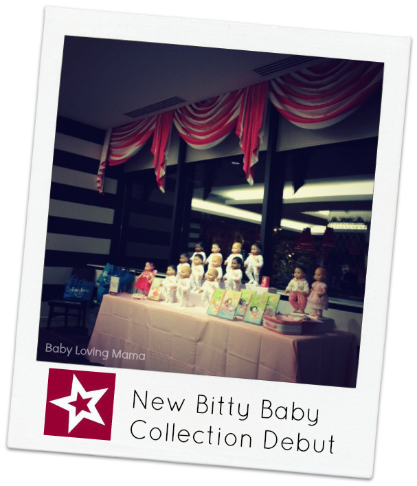 American Girl Party bitty baby collection Party
