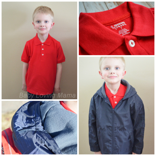 French Toast School Uniforms Polo Jacket