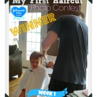 "Johnson's Baby ""My First Haircut"" Weekly Photo Contest: Week Two {Giveaway}"