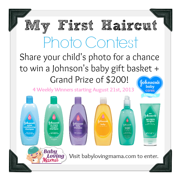 Johnsons Baby My First Haircut Photo Contest