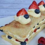 Labor Day Recipe: Patriotic Layered Berry Dessert #KraftRecipes