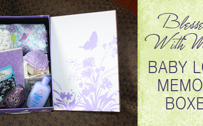 Baby Loss Memory Boxes : Johnson's Baby Cares {Make a Difference}