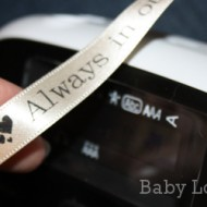 Personalized Ribbon Crafts With Epson LabelWorks Printable Ribbon Kit {Review}