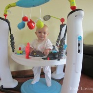 Evenflo ExerSaucer Jump and Learn Jam Session {Review}