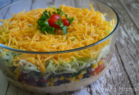 Fiesta Layer Dip for Be Natural Virtual Cookoff