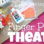 Finger Puppet Theater {Craft Tutorial}