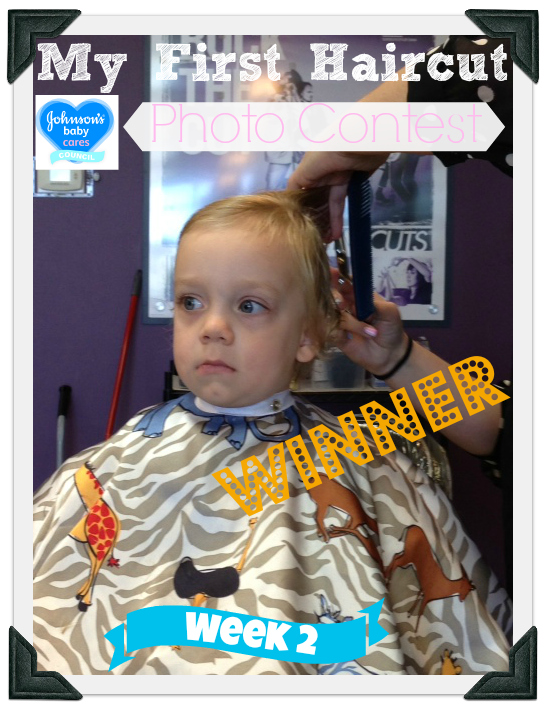 Johnsons Baby My First Haircut Photo Contest Shea Week 2 Winner