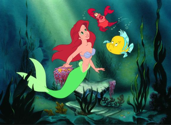 Little Mermaid Stills Flounder Sebastian