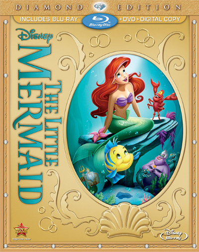 Disney\'s The Little Mermaid Diamond Edition Hits Stores October 1st ...