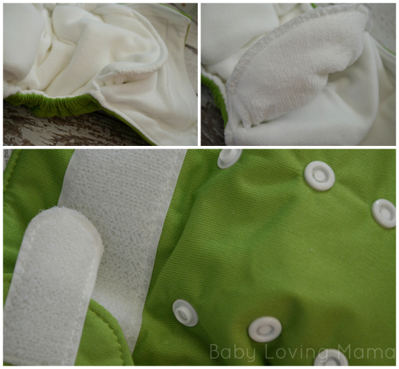 Sprout Naturally Thirsties Cloth Diapers Details