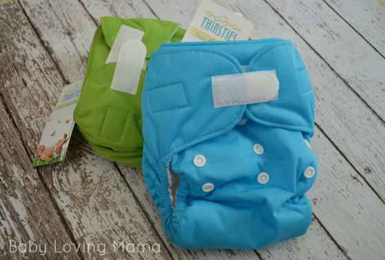Sprout Naturally Thirsties Cloth Diapers