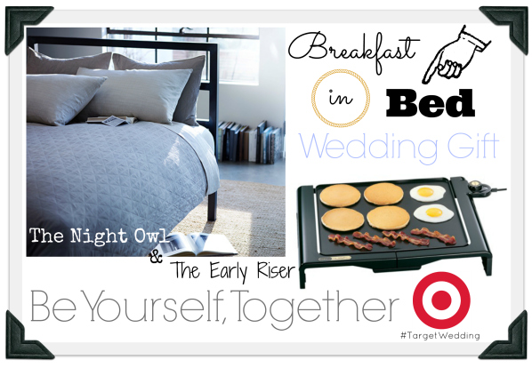 Target Wedding Breakfast in Bed Be Yourself Together Gift