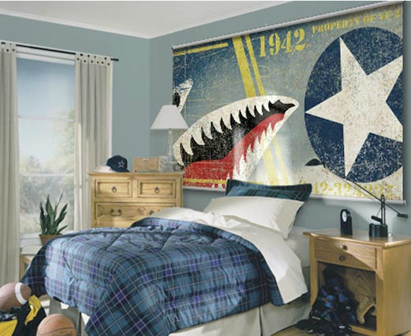 Wall STicker Outlet Minute Mural Navy Midway