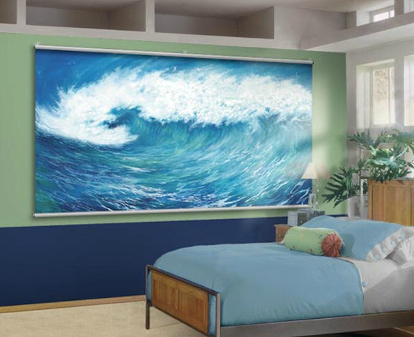 Wall STicker Outlet Wave Minute Mural