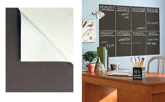 Wall Sticker Outlet Slate Wall Chalkboard