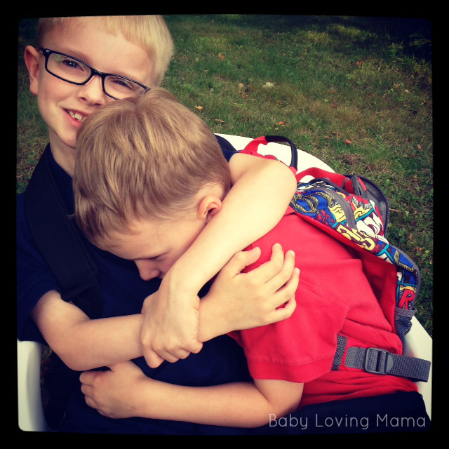 lucian and warren hugging bts