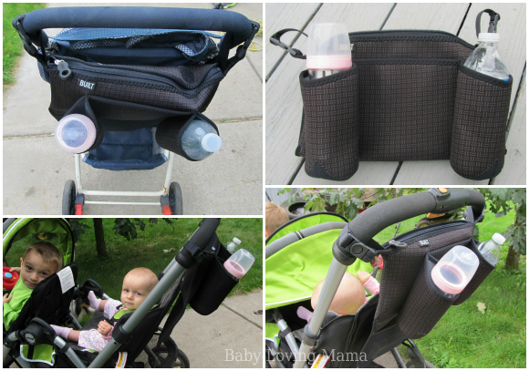 Built Day Tripper Stroller Organizer