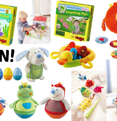 Start Holiday Shopping Early with HABA   Fire Brigade Play Set {Review & Giveaway}