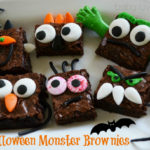 Halloween Monster Brownies: Make it Simple!