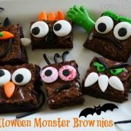 Halloween Monster Brownies: Make it Simple!