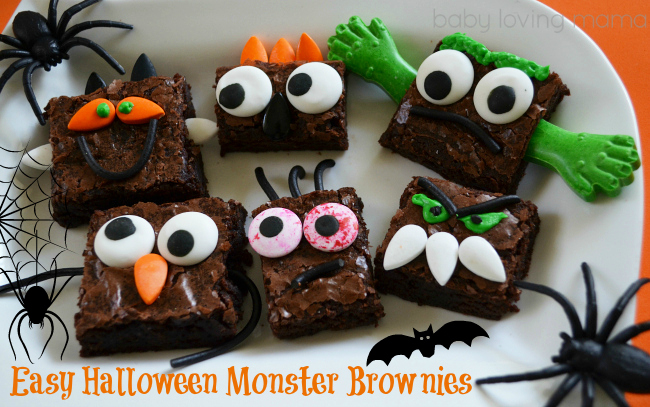 Halloween Brown Monsters EASY Kid Friendly