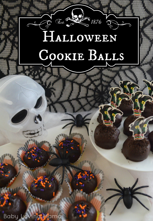 Halloween Cookie Balls Joann Wilton