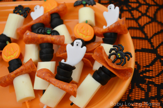 Halloween Spooky Skewers with Kraft