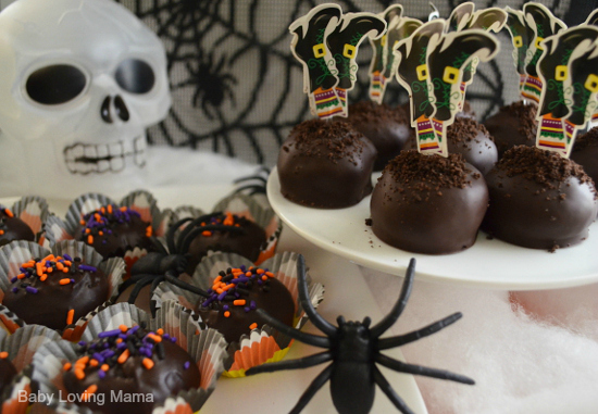 Halloween Witch Boots Cookie Balls