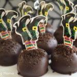 Buried Witch Halloween Cookie Balls