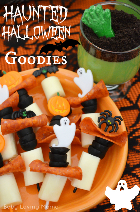 Haunted Halloween Goodies with Kraft