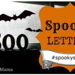 Spooky Letters Halloween Craft Tutorial + Joann Fabrics 50% OFF COUPON #spookyspaces