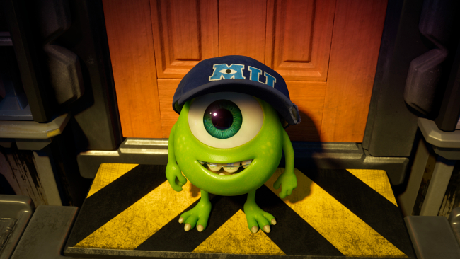 Monsters University Movie Still Mike young little