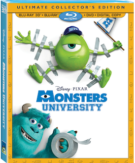 Monsters University Ultimate Collectors Edition