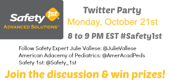 Safety 1st Advanced Solutions October Twitter Party