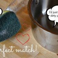 Scotch-Brite Heavy Duty Dishwand: Tackling Stubborn Kitchen Messes + Giveaway
