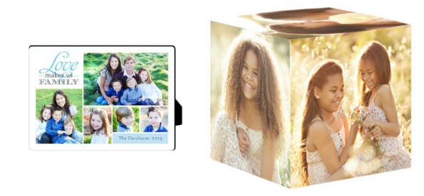 Shutterfly Photo Gifts Desktop Plaque Photo Cube