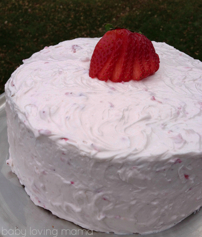 Strawberry Layer Birthday Cake from Kraft