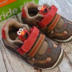 Stride Rite Halloween Shoes Complete the Look: Wesley's Elmo Costume