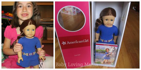 American Girl Saige 23