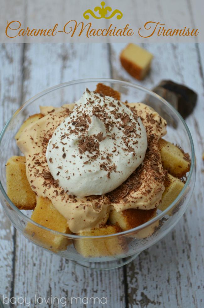 Caramel Macchiato Tiramisu Thanksgiving Dessert