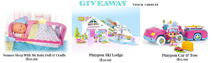 Famosa Giveaway Pinypon Nenuco
