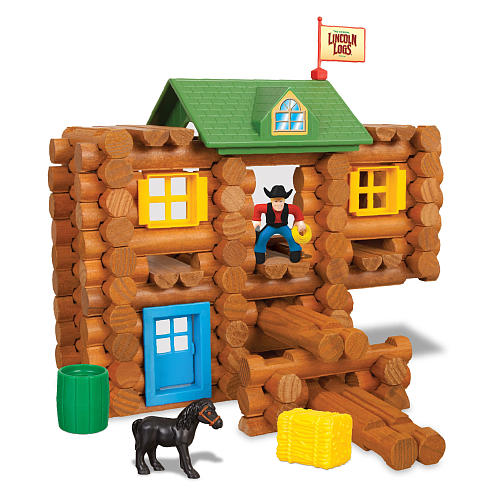 K Nex Lincoln Logs Redfield Ranch Countdown To Christmas