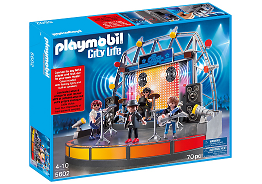 Playmobil City Life PopStars Stage