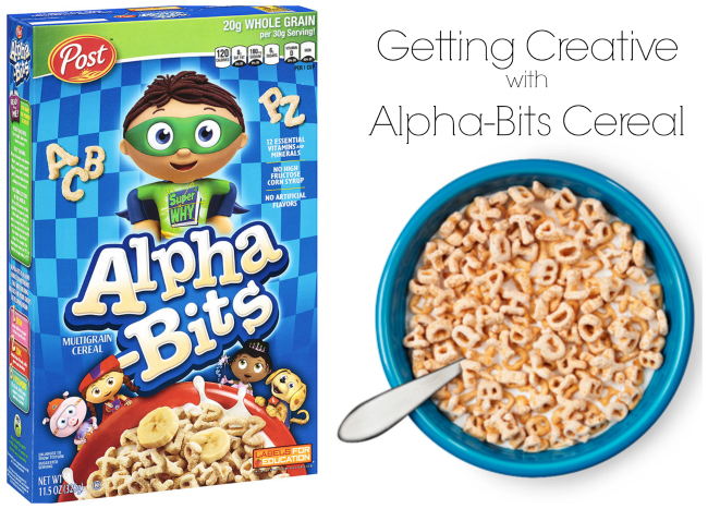 Post Alpha Bits Cereal Creative Snack Idea
