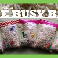 Rice Busy Bags {Craft Tutorial}
