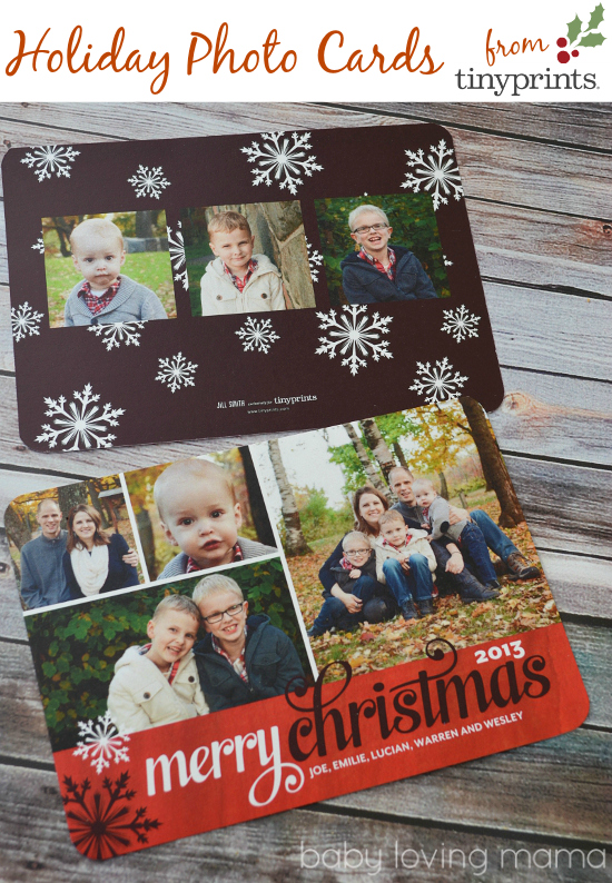 Tiny Prints Photo Christmas Cards