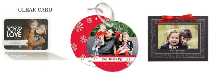 Tiny Prints holiday photo cards