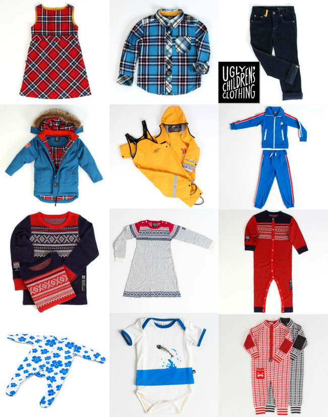 Ugly Childrens Clothing Kids Apparel Merino Wool