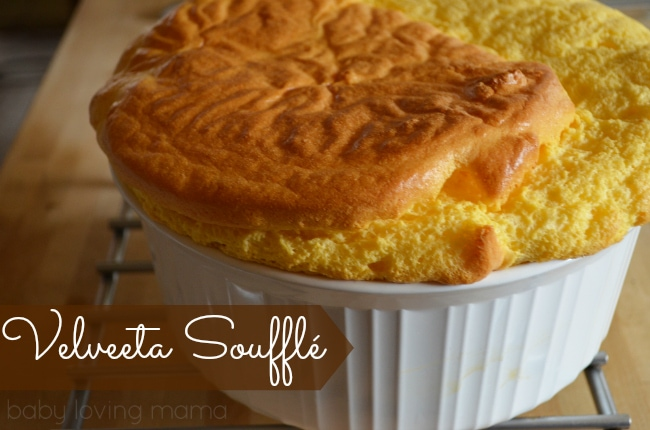 Velveeta Egg Cheese Souffle